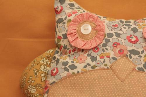 chouette coussin 3