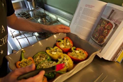 Légumes farcis Jamie Oliver