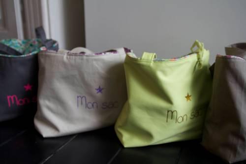 sac de plage à personnaliser