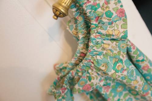 Robe liberty betsy turquoise