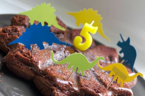 Gateau anniversaire dinosaure