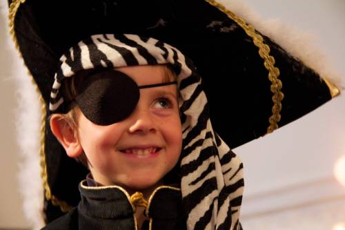 Un pirate heureux